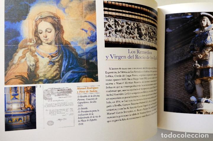 Libros antiguos: EL PARQUE DE MARIA LUISA.RESTAURACION Y REHABILITACION DE GLORIETAS.Coordina Francisco González - Foto 4 - 257737665