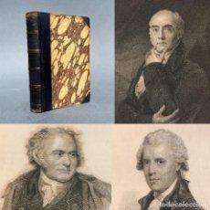 Libros antiguos: 1830 - VIDA DE LOS MAS EMINENTES PINTORES, ESCULTORES Y ARQUITECTOS INGLESES - GRABADOS - ROMNEY. Lote 259756900