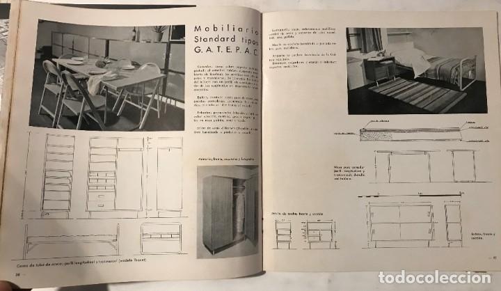 Libros antiguos: AC 8 - 1932 PUBLICACIÓN DEL GATEPAC - DOCUMENTOS DE ACTIVIDAD CONTEMPORÁNEA - Foto 4 - 260405845
