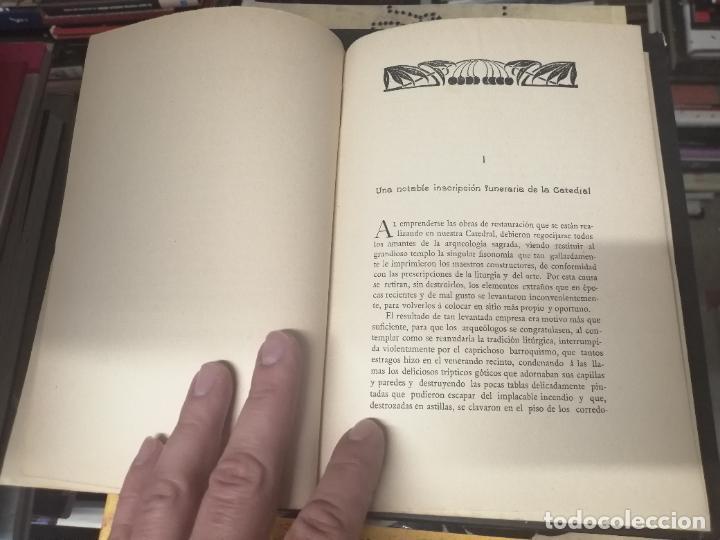 Libros antiguos: RESTAURACIÓN DE LA CATEDRAL DE MALLORCA . M. ROTGER CAPLLONCH . 1ª EDICIÓN 1907. BUSCADÍSIMO!!! - Foto 3 - 261839530