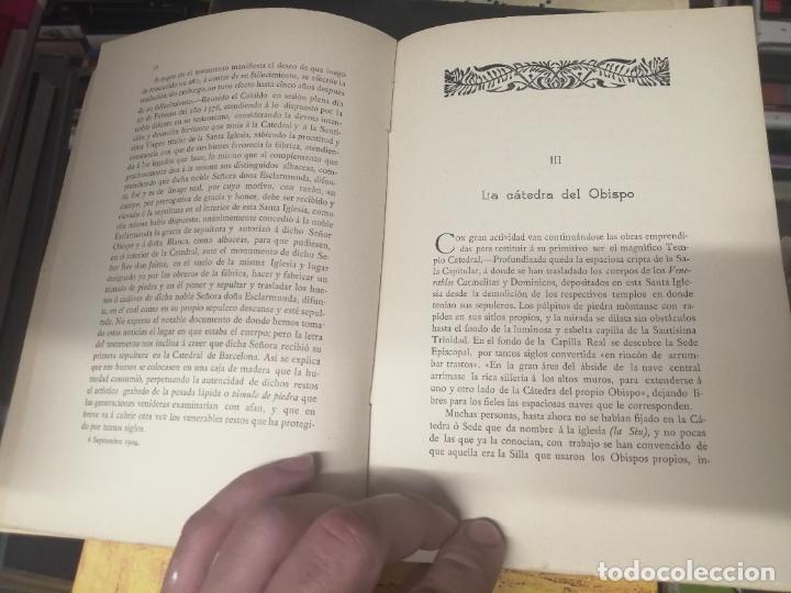Libros antiguos: RESTAURACIÓN DE LA CATEDRAL DE MALLORCA . M. ROTGER CAPLLONCH . 1ª EDICIÓN 1907. BUSCADÍSIMO!!! - Foto 4 - 261839530