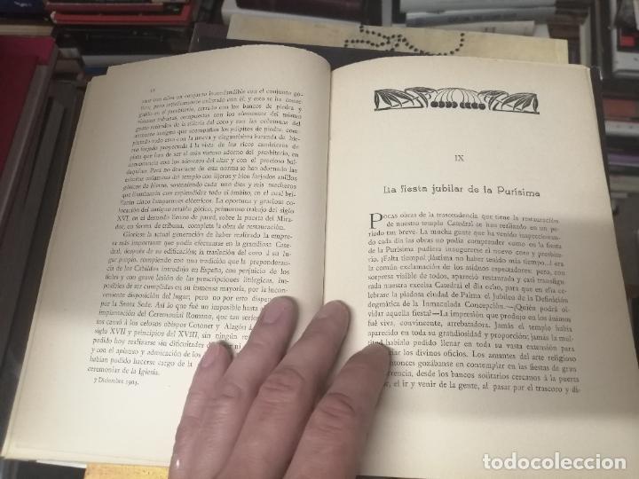Libros antiguos: RESTAURACIÓN DE LA CATEDRAL DE MALLORCA . M. ROTGER CAPLLONCH . 1ª EDICIÓN 1907. BUSCADÍSIMO!!! - Foto 7 - 261839530