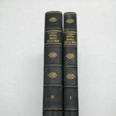 Libros antiguos: SANTA MARIA DEL MAR BARCELONA MONOGRAFIA HISTÒRICA 1925. Lote 262446665