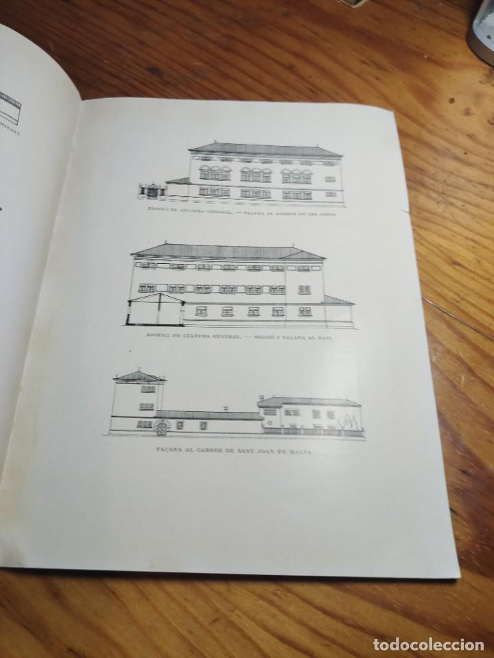 """Libros antiguos: Inauguració de les obres de les """"Escoles Casas"""". Barcelona, XII de Novembre de MCMXXX. - Foto 4 - 262825375"""