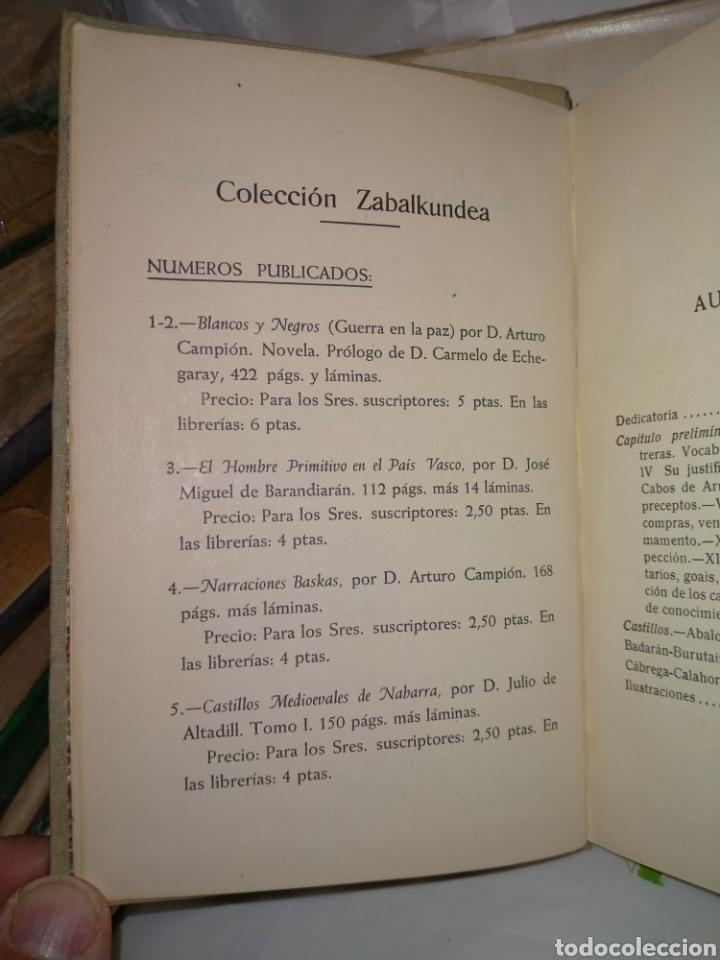 Libros antiguos: JULIO ALTADILL. CASTILLOS MEDIOEVALES DE NAVARRA(1934/1936). 3 TOMOS .EDITORIAL ITXAROPENA - Foto 3 - 262978230