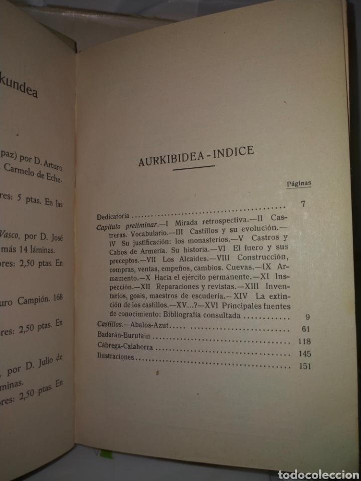 Libros antiguos: JULIO ALTADILL. CASTILLOS MEDIOEVALES DE NAVARRA(1934/1936). 3 TOMOS .EDITORIAL ITXAROPENA - Foto 5 - 262978230