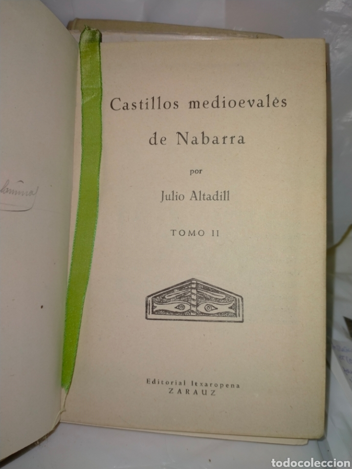 Libros antiguos: JULIO ALTADILL. CASTILLOS MEDIOEVALES DE NAVARRA(1934/1936). 3 TOMOS .EDITORIAL ITXAROPENA - Foto 12 - 262978230