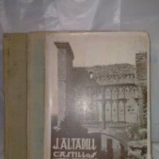Libros antiguos: JULIO ALTADILL. CASTILLOS MEDIOEVALES DE NAVARRA(1934/1936). 3 TOMOS .EDITORIAL ITXAROPENA. Lote 262978230