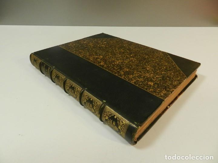 Libros antiguos: 1900 LARTS DES JARDINS - PARCS PROMENADES ETUDE HISTORIQUE - ALPHAND A & LE BARON ERNOUF EN FRANCÉS - Foto 6 - 264174204