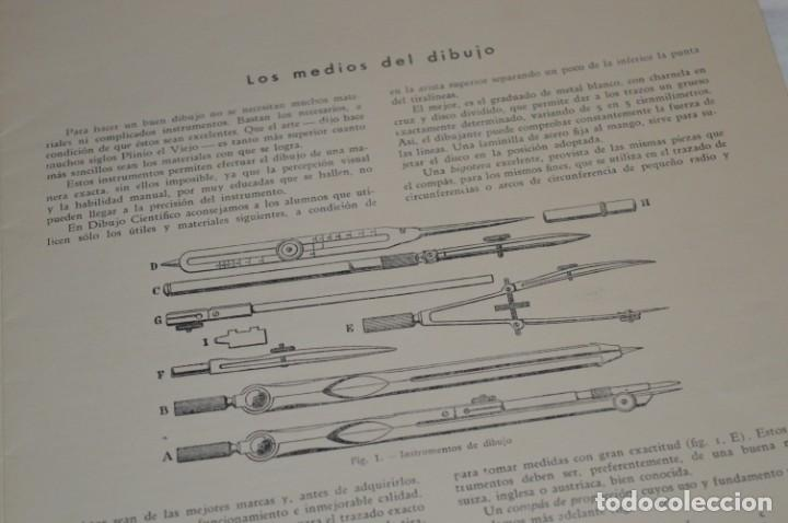 Libros antiguos: Carpeta láminas / DIBUJO CIENTÍFICO / GIL de VICARIO - Barcelona 1935 / Librería BOSCH ¡Mira fotos! - Foto 7 - 266144623