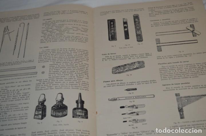 Libros antiguos: Carpeta láminas / DIBUJO CIENTÍFICO / GIL de VICARIO - Barcelona 1935 / Librería BOSCH ¡Mira fotos! - Foto 8 - 266144623