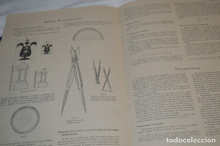 Libros antiguos: Carpeta láminas / DIBUJO CIENTÍFICO / GIL de VICARIO - Barcelona 1935 / Librería BOSCH ¡Mira fotos! - Foto 9 - 266144623
