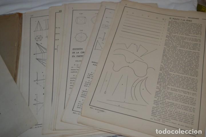 Libros antiguos: Carpeta láminas / DIBUJO CIENTÍFICO / GIL de VICARIO - Barcelona 1935 / Librería BOSCH ¡Mira fotos! - Foto 12 - 266144623