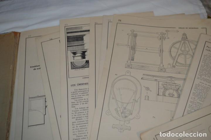 Libros antiguos: Carpeta láminas / DIBUJO CIENTÍFICO / GIL de VICARIO - Barcelona 1935 / Librería BOSCH ¡Mira fotos! - Foto 14 - 266144623