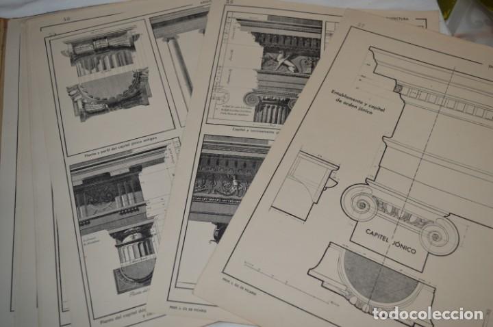 Libros antiguos: Carpeta láminas / DIBUJO CIENTÍFICO / GIL de VICARIO - Barcelona 1935 / Librería BOSCH ¡Mira fotos! - Foto 15 - 266144623