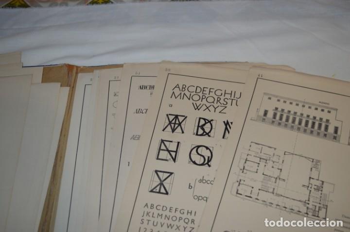 Libros antiguos: Carpeta láminas / DIBUJO CIENTÍFICO / GIL de VICARIO - Barcelona 1935 / Librería BOSCH ¡Mira fotos! - Foto 16 - 266144623