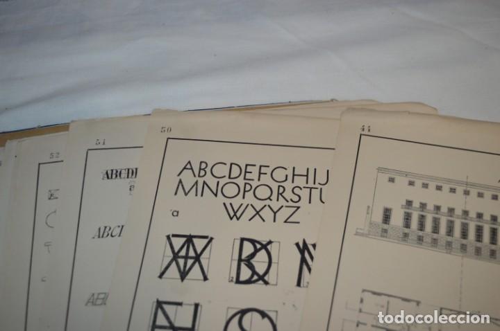 Libros antiguos: Carpeta láminas / DIBUJO CIENTÍFICO / GIL de VICARIO - Barcelona 1935 / Librería BOSCH ¡Mira fotos! - Foto 17 - 266144623