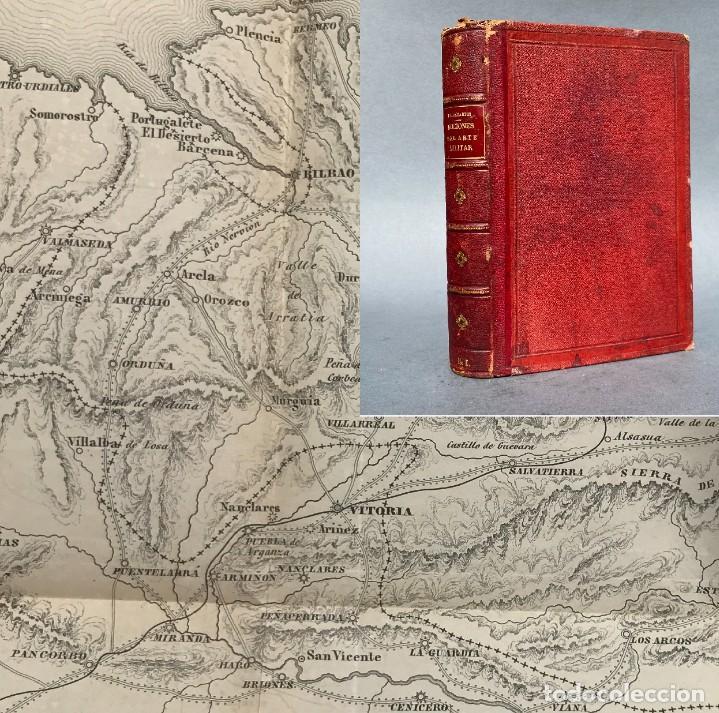 1862 - NOCIONES DEL ARTE MILITAR - LÁMINAS DESPLEGABLES DE PLANOS DE BATALLAS - FRANCISCO VILLAMARTI (Libros Antiguos, Raros y Curiosos - Bellas artes, ocio y coleccion - Arquitectura)