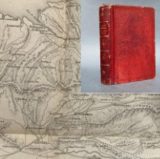 Livres anciens: 1862 - NOCIONES DEL ARTE MILITAR - LÁMINAS DESPLEGABLES DE PLANOS DE BATALLAS - FRANCISCO VILLAMARTI. Lote 267075724