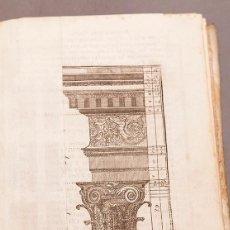 Libros antiguos: ESCUELA DE ARQUITECTURA CIVIL - 1804 - MULTITUD DE GRABADOS Y DESPLEGABLES - ATANASIO GENARO BRIZGUZ. Lote 267200619