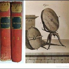 Libros antiguos: AÑO 1799: BUFFON. 2 TOMOS DEL SIGLO XVIII.. Lote 267482644