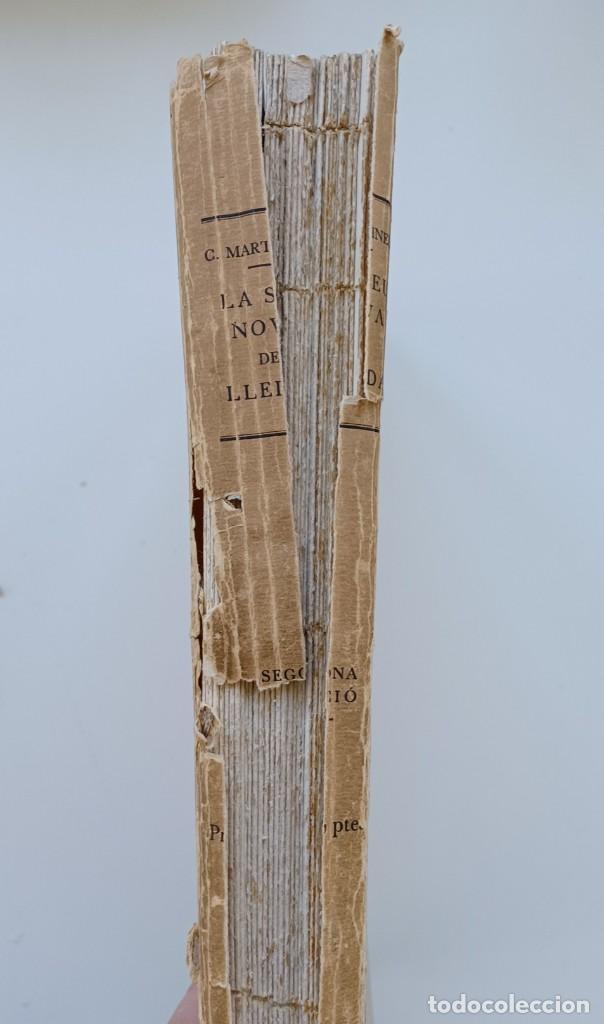 Libros antiguos: La Seu nova de Lleyda (Premi Concurs Pollés 1923). César Martinell i Brunet (Autor) - Foto 2 - 267880159