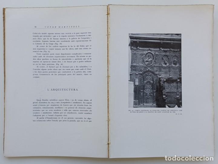 Libros antiguos: La Seu nova de Lleyda (Premi Concurs Pollés 1923). César Martinell i Brunet (Autor) - Foto 5 - 267880159