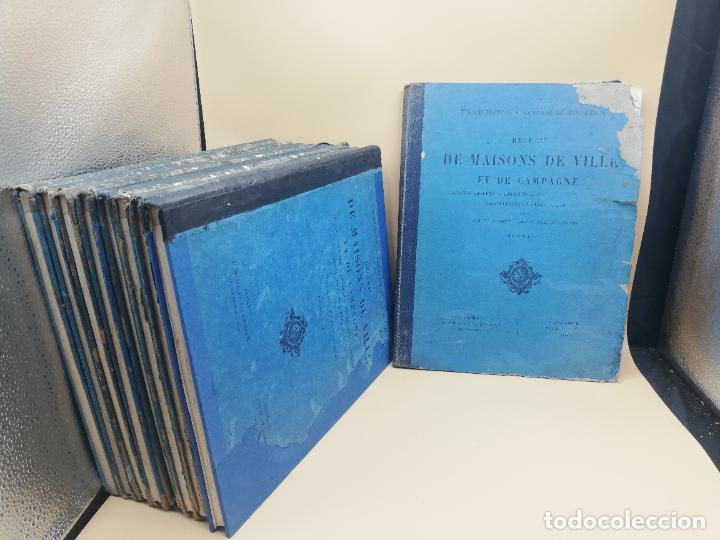 Libros antiguos: L´ARCHITECTURE ALLEMANDE AU XIX SIECLE. RECUELL DE MASIONS DE VILLE ET DE CAMPAGNE. 9 TOMOS.VER.LEER - Foto 2 - 267903714