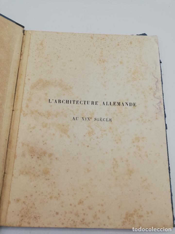 Libros antiguos: L´ARCHITECTURE ALLEMANDE AU XIX SIECLE. RECUELL DE MASIONS DE VILLE ET DE CAMPAGNE. 9 TOMOS.VER.LEER - Foto 5 - 267903714