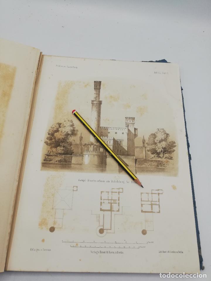 Libros antiguos: L´ARCHITECTURE ALLEMANDE AU XIX SIECLE. RECUELL DE MASIONS DE VILLE ET DE CAMPAGNE. 9 TOMOS.VER.LEER - Foto 9 - 267903714