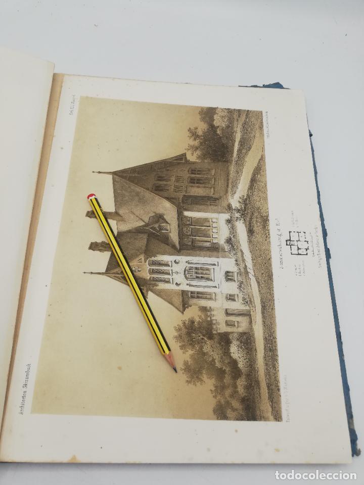 Libros antiguos: L´ARCHITECTURE ALLEMANDE AU XIX SIECLE. RECUELL DE MASIONS DE VILLE ET DE CAMPAGNE. 9 TOMOS.VER.LEER - Foto 11 - 267903714