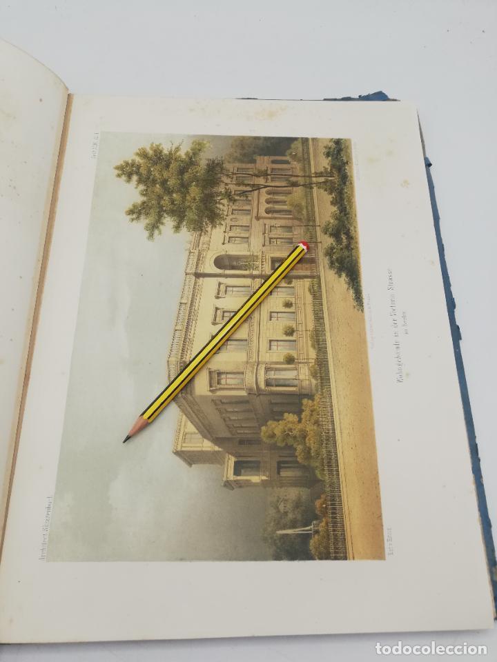 Libros antiguos: L´ARCHITECTURE ALLEMANDE AU XIX SIECLE. RECUELL DE MASIONS DE VILLE ET DE CAMPAGNE. 9 TOMOS.VER.LEER - Foto 14 - 267903714