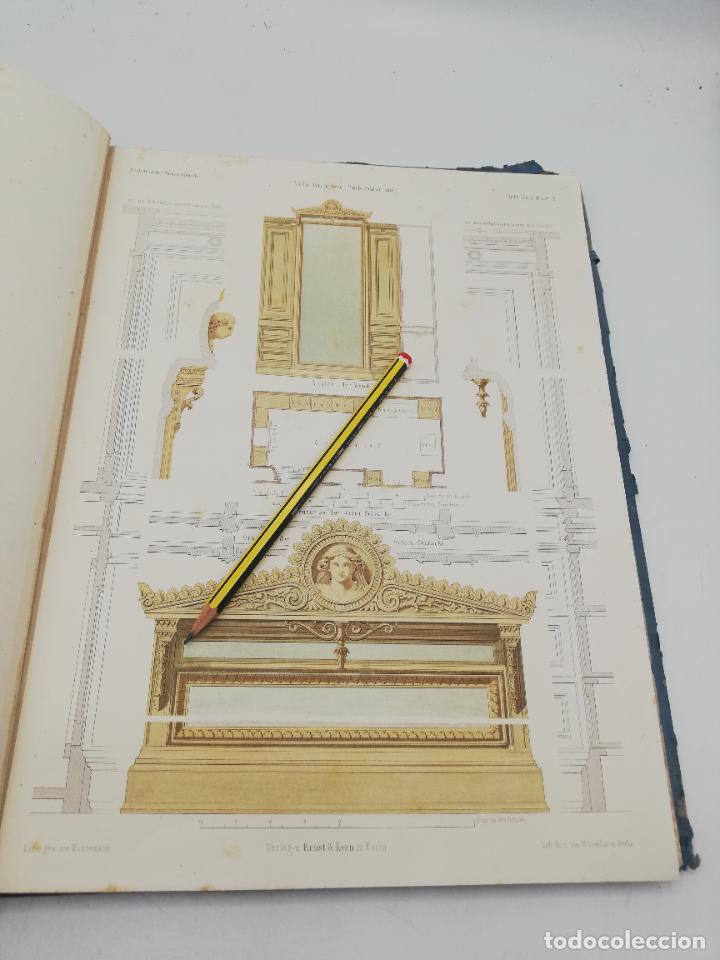 Libros antiguos: L´ARCHITECTURE ALLEMANDE AU XIX SIECLE. RECUELL DE MASIONS DE VILLE ET DE CAMPAGNE. 9 TOMOS.VER.LEER - Foto 15 - 267903714