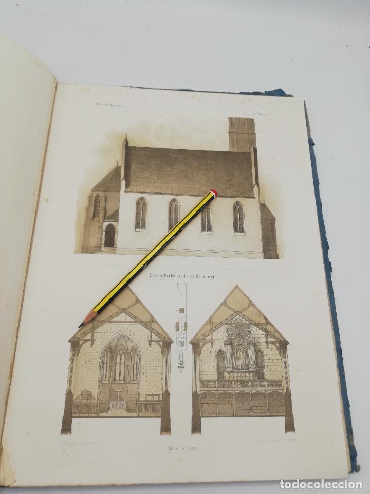 Libros antiguos: L´ARCHITECTURE ALLEMANDE AU XIX SIECLE. RECUELL DE MASIONS DE VILLE ET DE CAMPAGNE. 9 TOMOS.VER.LEER - Foto 19 - 267903714