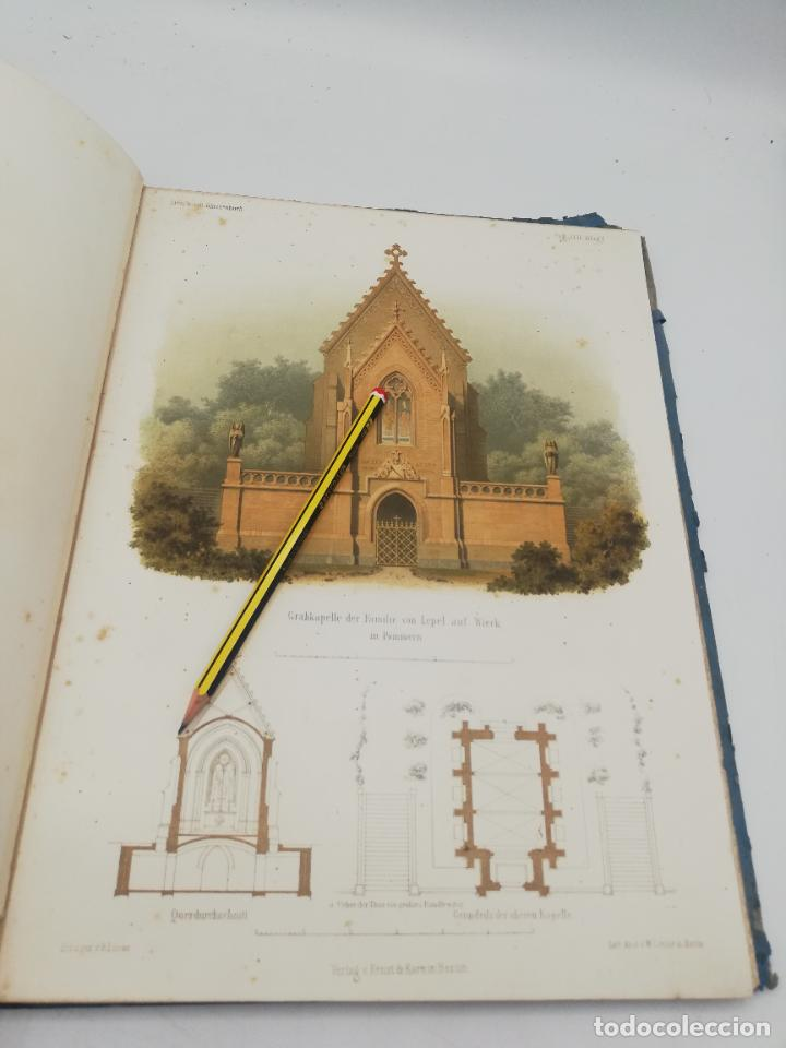 Libros antiguos: L´ARCHITECTURE ALLEMANDE AU XIX SIECLE. RECUELL DE MASIONS DE VILLE ET DE CAMPAGNE. 9 TOMOS.VER.LEER - Foto 20 - 267903714