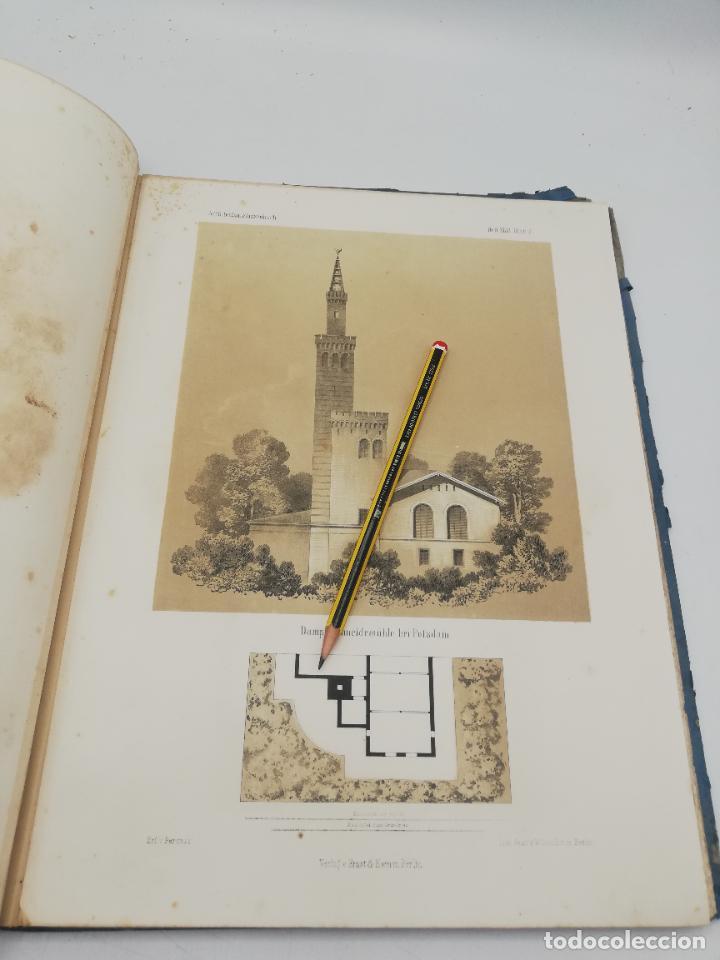 Libros antiguos: L´ARCHITECTURE ALLEMANDE AU XIX SIECLE. RECUELL DE MASIONS DE VILLE ET DE CAMPAGNE. 9 TOMOS.VER.LEER - Foto 21 - 267903714