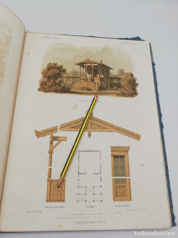 Libros antiguos: L´ARCHITECTURE ALLEMANDE AU XIX SIECLE. RECUELL DE MASIONS DE VILLE ET DE CAMPAGNE. 9 TOMOS.VER.LEER - Foto 22 - 267903714