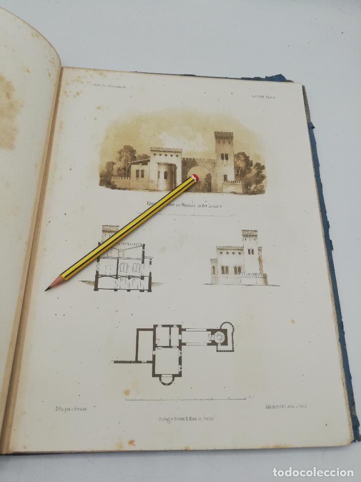 Libros antiguos: L´ARCHITECTURE ALLEMANDE AU XIX SIECLE. RECUELL DE MASIONS DE VILLE ET DE CAMPAGNE. 9 TOMOS.VER.LEER - Foto 23 - 267903714
