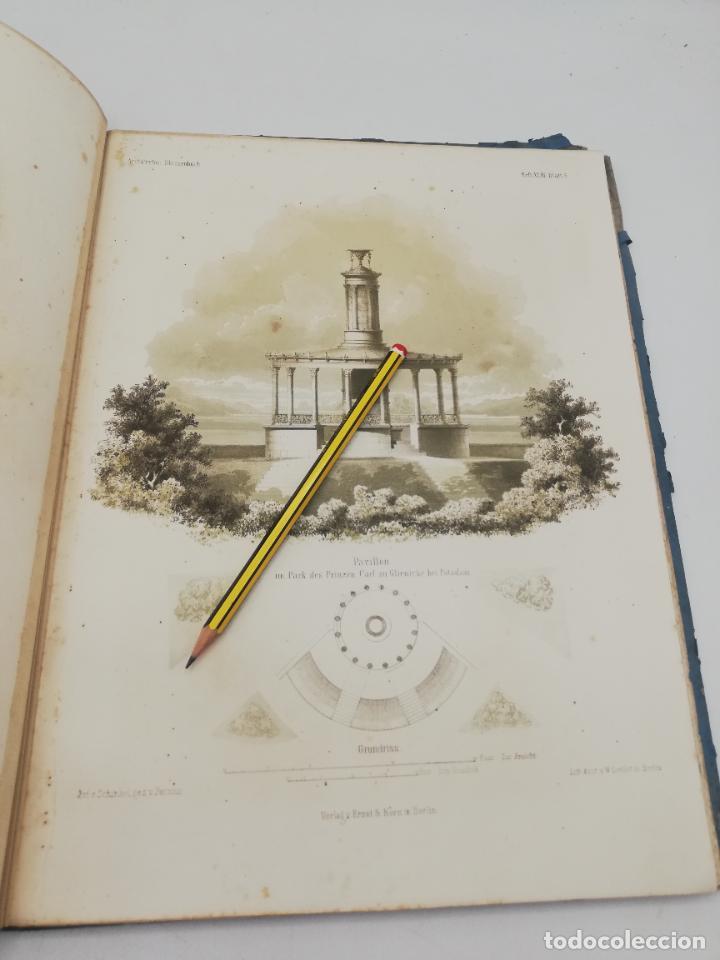 Libros antiguos: L´ARCHITECTURE ALLEMANDE AU XIX SIECLE. RECUELL DE MASIONS DE VILLE ET DE CAMPAGNE. 9 TOMOS.VER.LEER - Foto 24 - 267903714