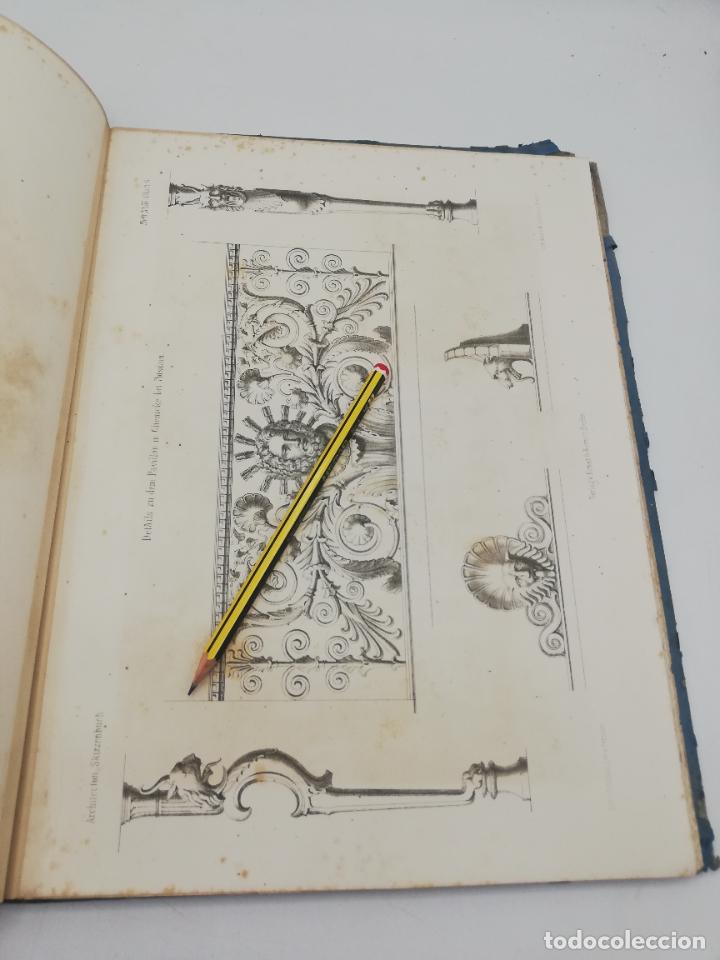 Libros antiguos: L´ARCHITECTURE ALLEMANDE AU XIX SIECLE. RECUELL DE MASIONS DE VILLE ET DE CAMPAGNE. 9 TOMOS.VER.LEER - Foto 25 - 267903714