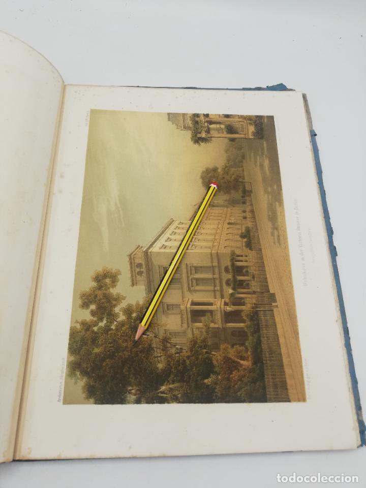 Libros antiguos: L´ARCHITECTURE ALLEMANDE AU XIX SIECLE. RECUELL DE MASIONS DE VILLE ET DE CAMPAGNE. 9 TOMOS.VER.LEER - Foto 26 - 267903714