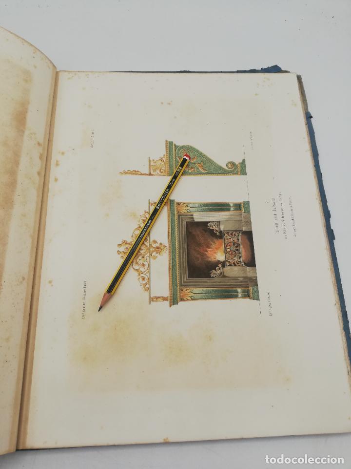 Libros antiguos: L´ARCHITECTURE ALLEMANDE AU XIX SIECLE. RECUELL DE MASIONS DE VILLE ET DE CAMPAGNE. 9 TOMOS.VER.LEER - Foto 27 - 267903714