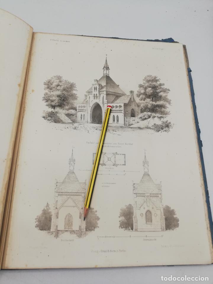 Libros antiguos: L´ARCHITECTURE ALLEMANDE AU XIX SIECLE. RECUELL DE MASIONS DE VILLE ET DE CAMPAGNE. 9 TOMOS.VER.LEER - Foto 28 - 267903714