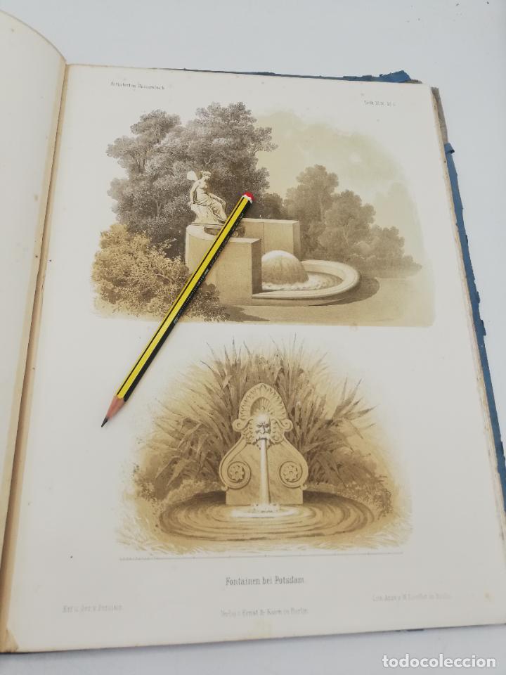 Libros antiguos: L´ARCHITECTURE ALLEMANDE AU XIX SIECLE. RECUELL DE MASIONS DE VILLE ET DE CAMPAGNE. 9 TOMOS.VER.LEER - Foto 29 - 267903714