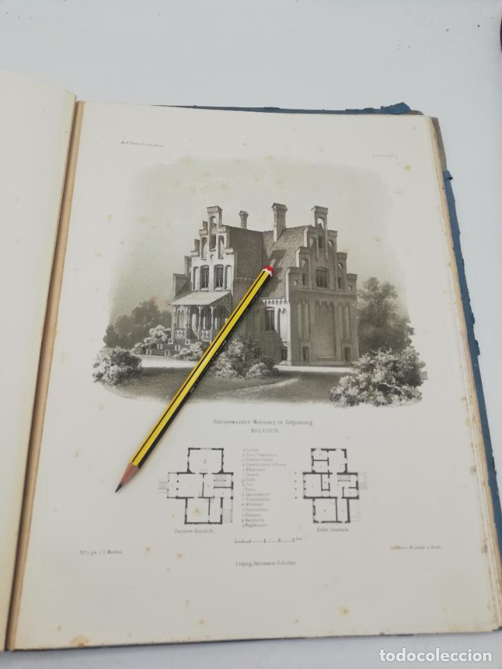 Libros antiguos: L´ARCHITECTURE ALLEMANDE AU XIX SIECLE. RECUELL DE MASIONS DE VILLE ET DE CAMPAGNE. 9 TOMOS.VER.LEER - Foto 35 - 267903714