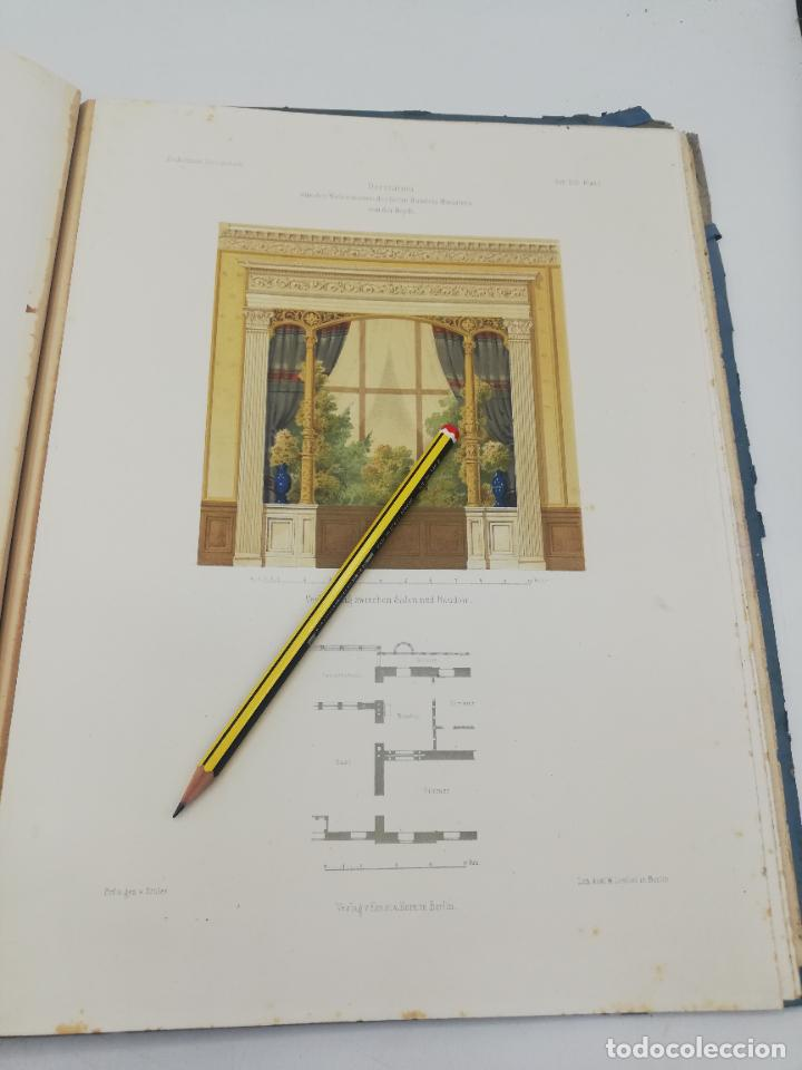Libros antiguos: L´ARCHITECTURE ALLEMANDE AU XIX SIECLE. RECUELL DE MASIONS DE VILLE ET DE CAMPAGNE. 9 TOMOS.VER.LEER - Foto 38 - 267903714