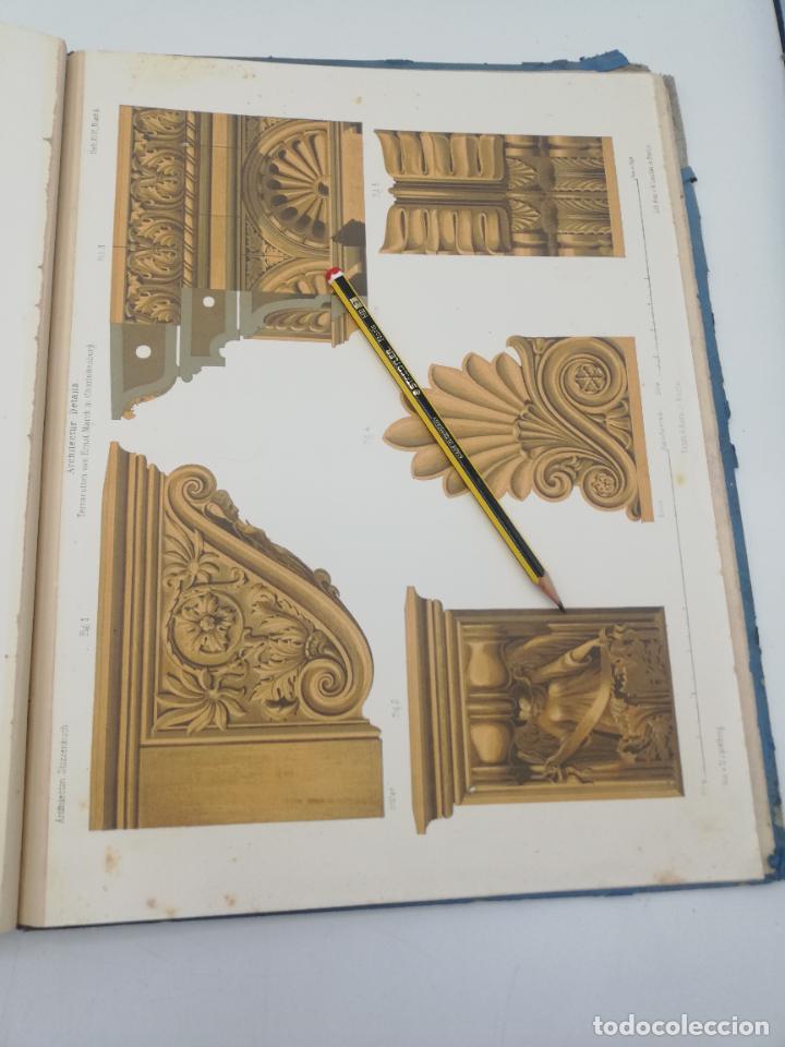 Libros antiguos: L´ARCHITECTURE ALLEMANDE AU XIX SIECLE. RECUELL DE MASIONS DE VILLE ET DE CAMPAGNE. 9 TOMOS.VER.LEER - Foto 42 - 267903714