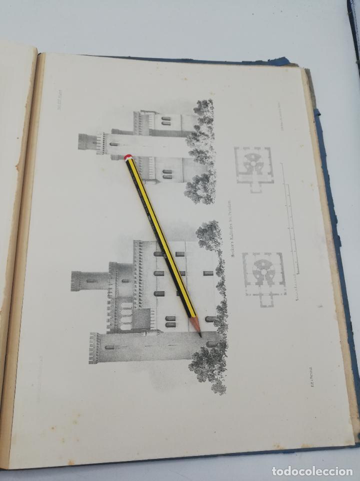 Libros antiguos: L´ARCHITECTURE ALLEMANDE AU XIX SIECLE. RECUELL DE MASIONS DE VILLE ET DE CAMPAGNE. 9 TOMOS.VER.LEER - Foto 43 - 267903714