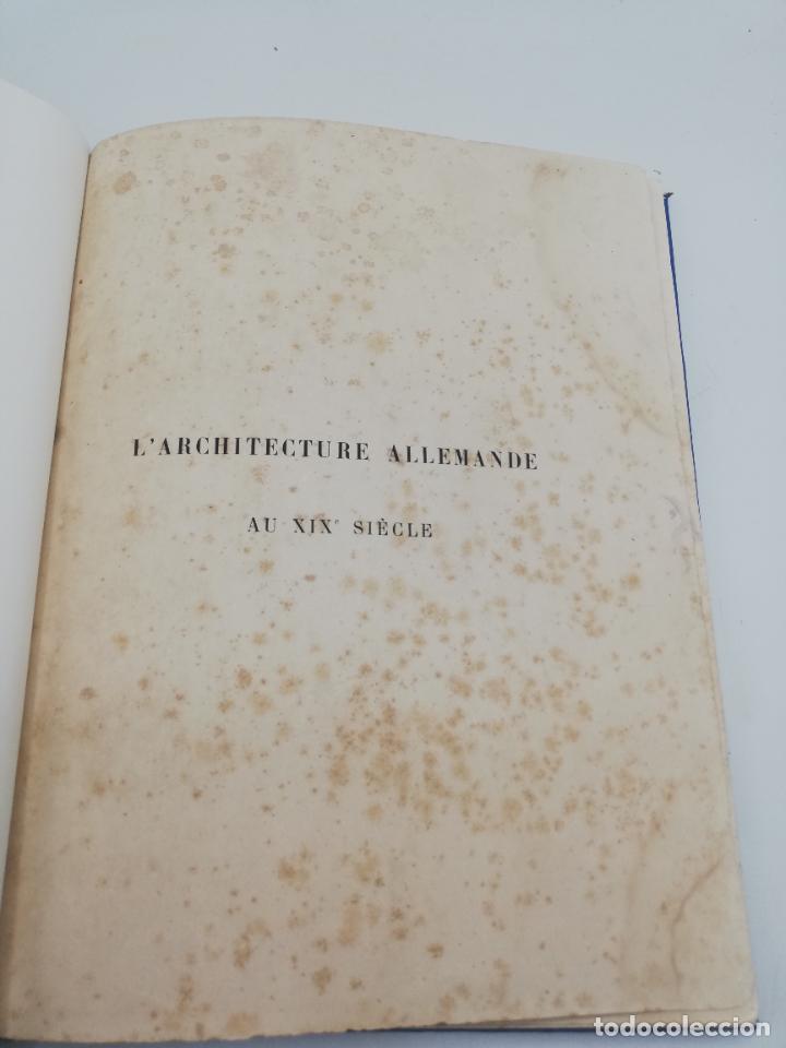 Libros antiguos: L´ARCHITECTURE ALLEMANDE AU XIX SIECLE. RECUELL DE MASIONS DE VILLE ET DE CAMPAGNE. 9 TOMOS.VER.LEER - Foto 47 - 267903714