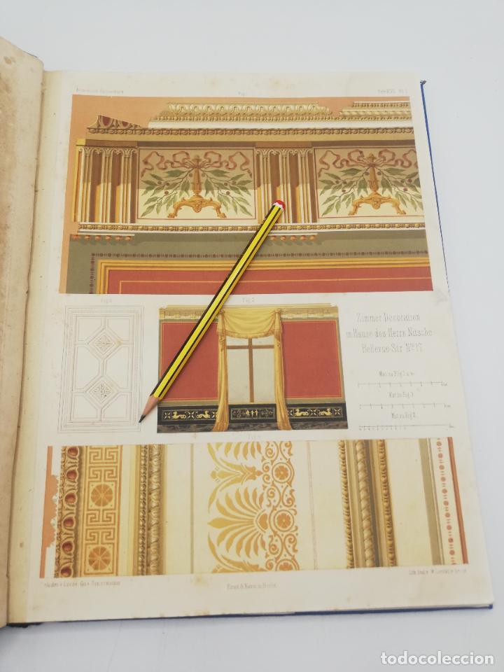 Libros antiguos: L´ARCHITECTURE ALLEMANDE AU XIX SIECLE. RECUELL DE MASIONS DE VILLE ET DE CAMPAGNE. 9 TOMOS.VER.LEER - Foto 50 - 267903714